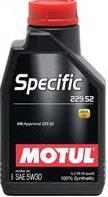 Motul 5w30 specific MB 229.52 bluetec