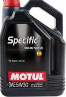 MOTUL SPECIFIС VW 504.00 / 507.00 5W30